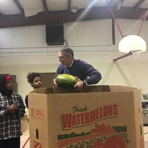 2015_Thanksgiving_Hens_Watermelons