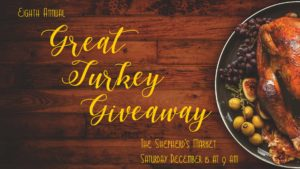 Eighth Annual Great Turkey Giveaway